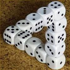 Like this intriguing dice triangle, it is often impossible to explain the pain from AVN to someone else